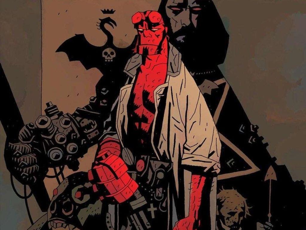 Mau Nonton Hellboy? Baca Dulu Komiknya