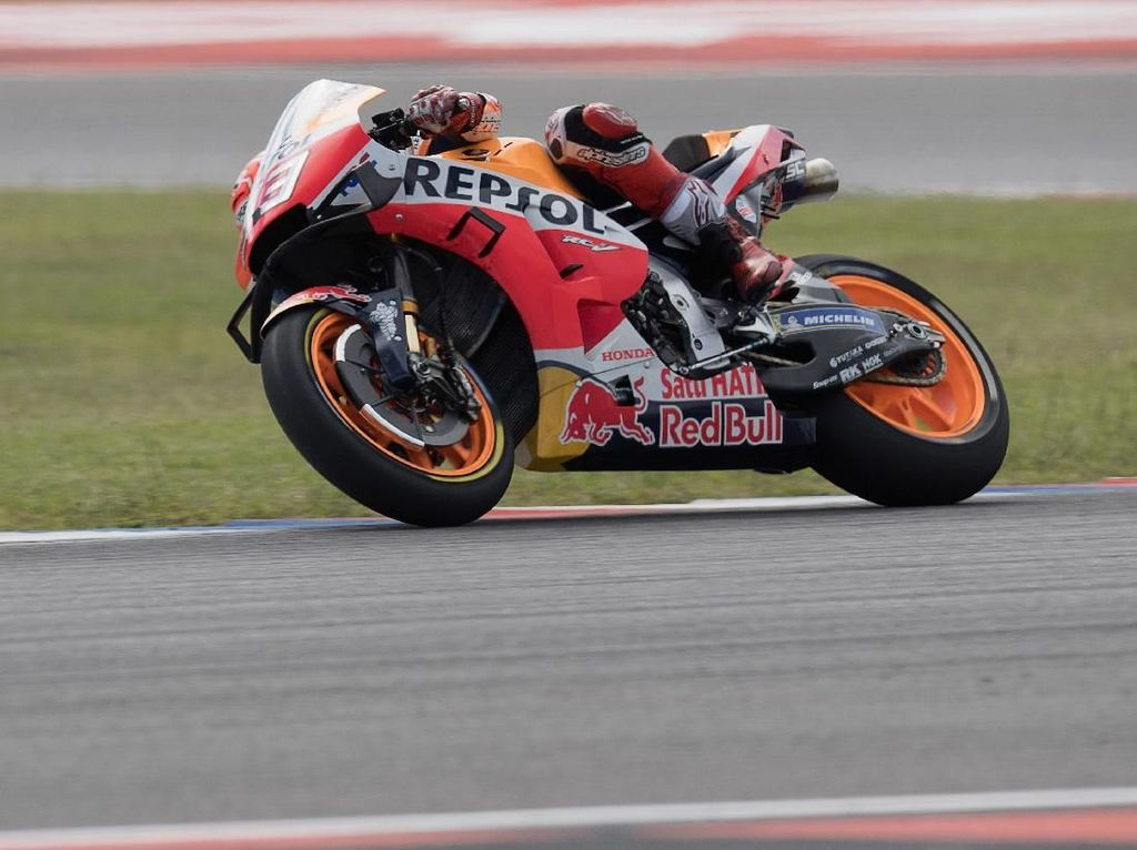 Free Practice I MotoGP AS: Marquez Tercepat