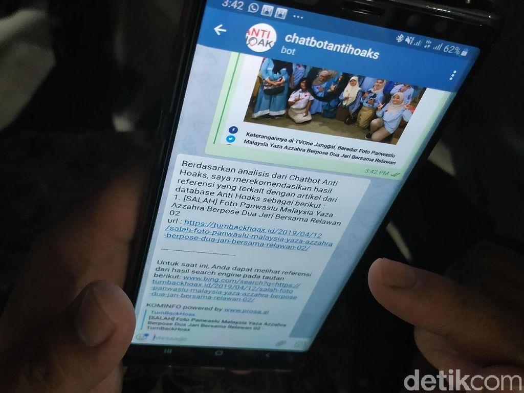 Kok Chatbot Anti Hoaks Belum ada di WhatsApp dan Line?