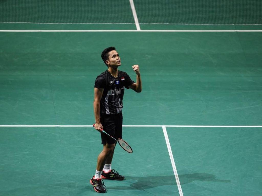 Anthony Singkirkan Momota, Praveen/Melati Juga ke Semifinal French Open
