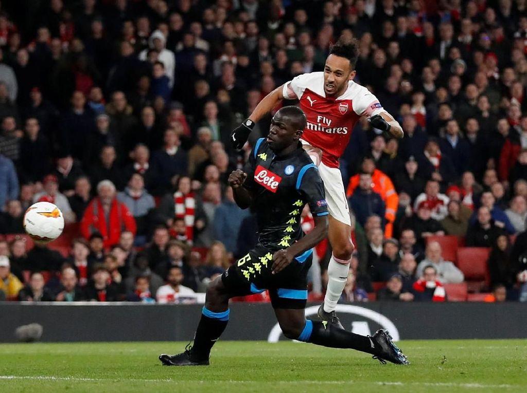 Hasil Liga Europa: Arsenal Gebuk Napoli 2-0