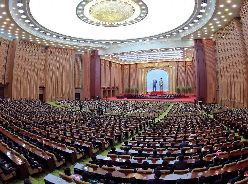 Kepemimpinan Korea Utara Dirombak, Kim Jong-Un Punya Gelar Baru
