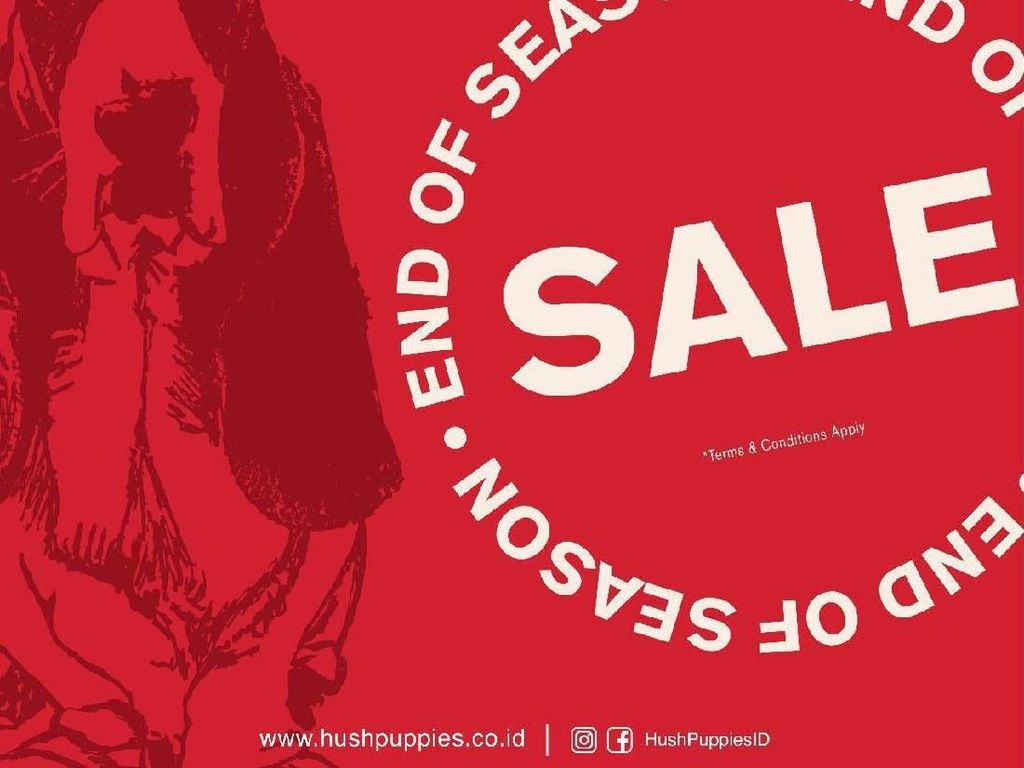 Hush Puppies Hingga Zara Home, 8 Brand yang Lagi Diskon di Senayan City