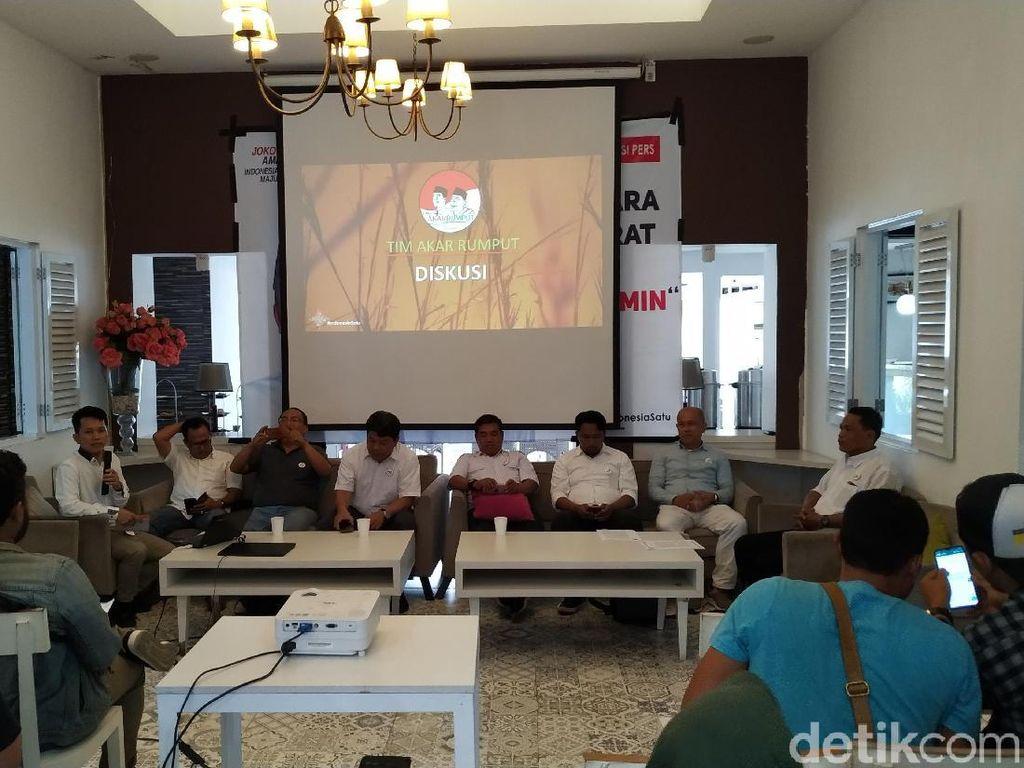 Tim Akar Rumput Klaim Jokowi Unggul 52,3 Persen di Jabar
