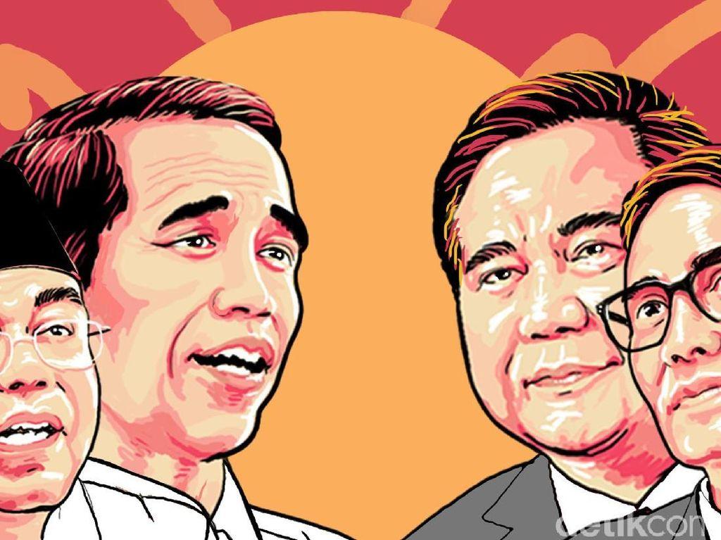 Hasil Sementara KPU: Jokowi Unggul di Jakut-Jakbar, Prabowo di Jaktim-Jaksel