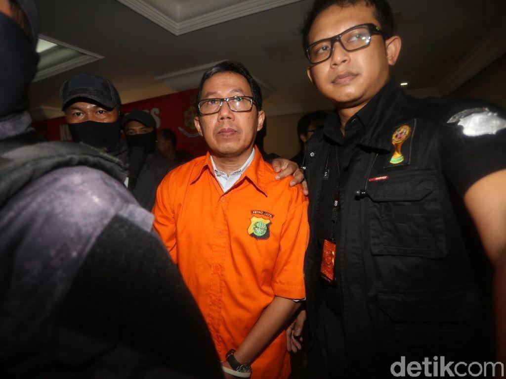 Video Jokdri Tiba di PN Siap Sidang Perdana Kasus Mafia Bola