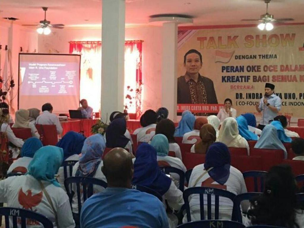 Momen Sosialisasi OK OCE di Jayapura