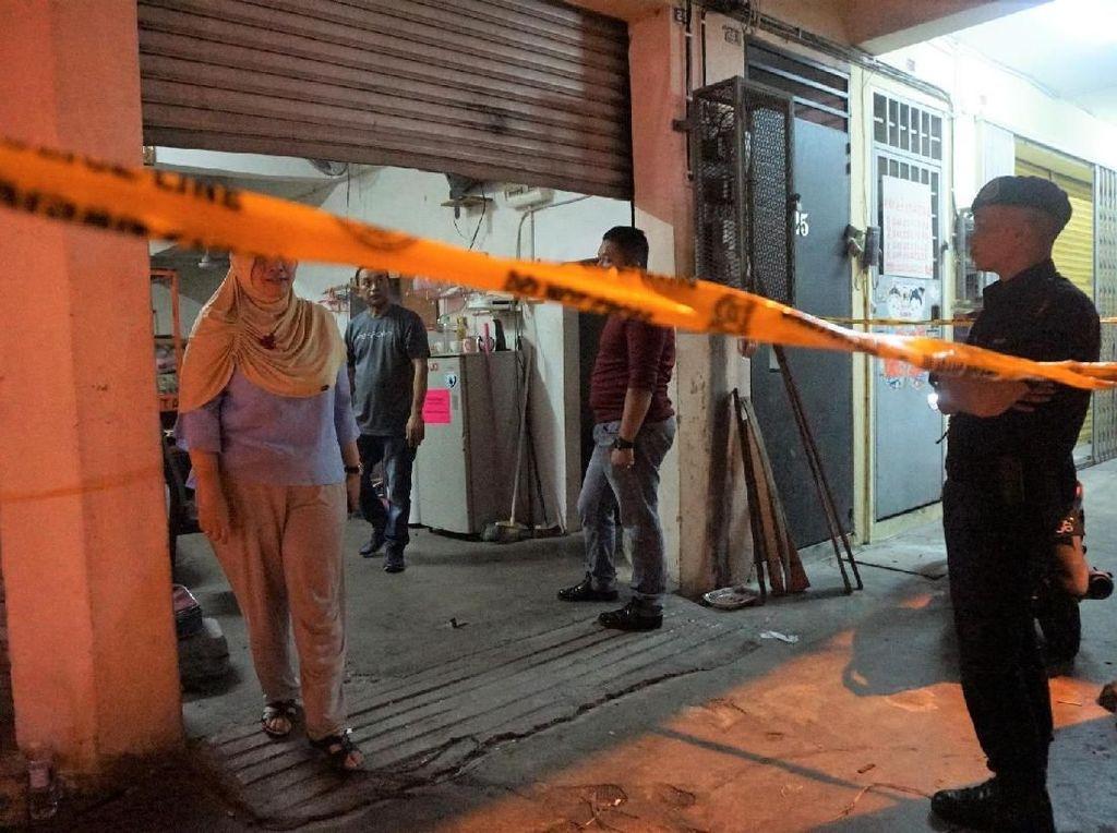 Lokasi Surat Suara Tercoblos di Malaysia Dipasangi Garis Polisi