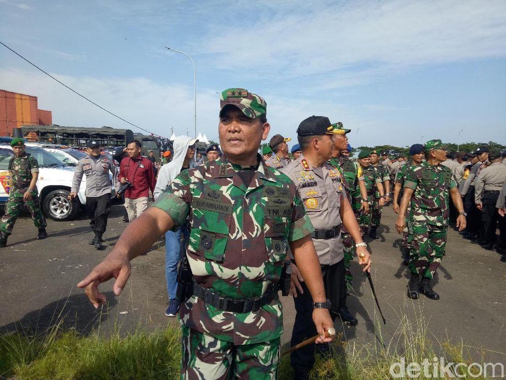Cek Pasukan dan Alutsista, Pangdam-Kapolda Sulsel Jamin Pemilu Aman
