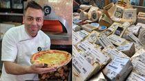 Pecahkan Rekor Dunia, Chef Ini Pakai 154 Jenis Keju Untuk Satu Pizza