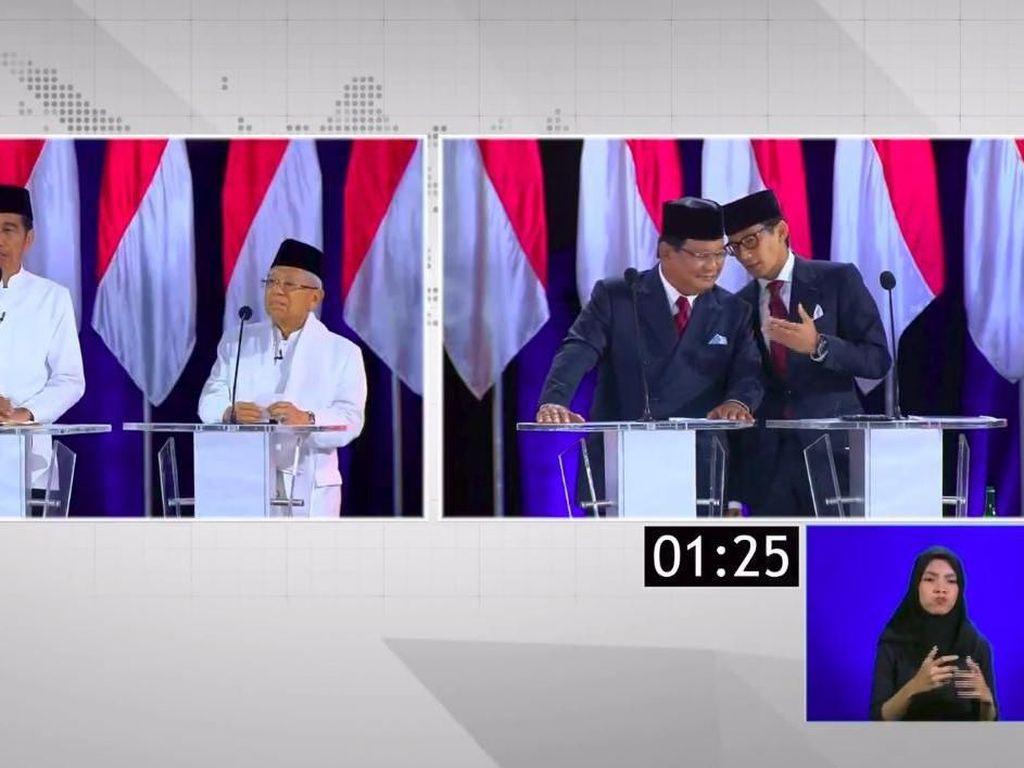 Maruf Tantang Isu Pemerataan, Prabowo Sebut-sebut Anies Baswedan