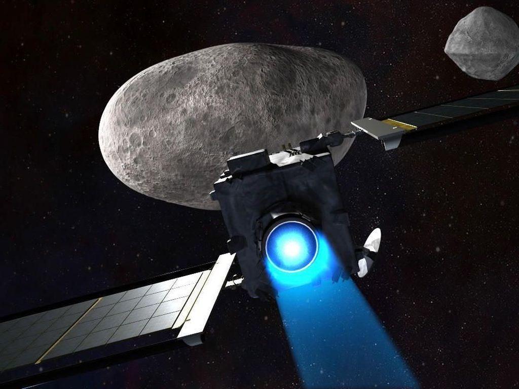 NASA Gandeng SpaceX untuk Tabrak Asteroid