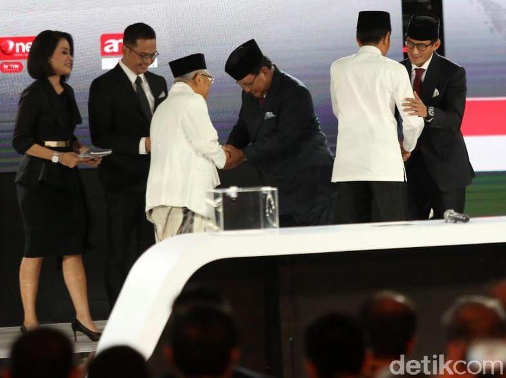 Data KawalPemilu 3,26%: Jokowi 55,3% Prabowo 44,7%