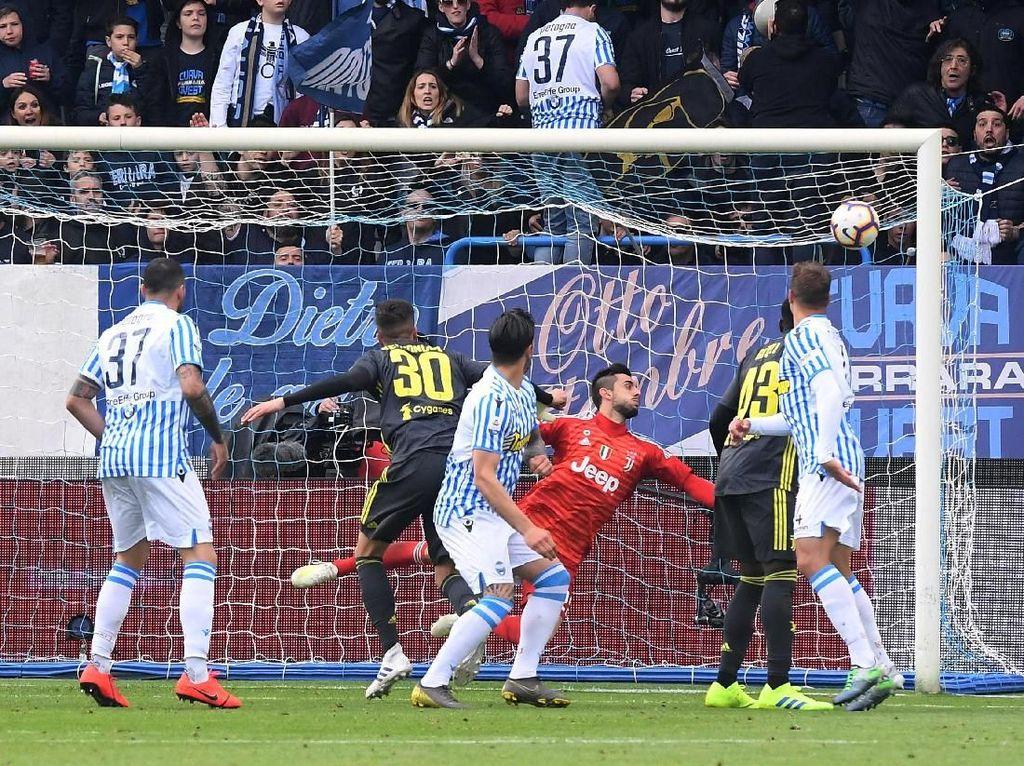 SPAL Tunda Pesta Juventus