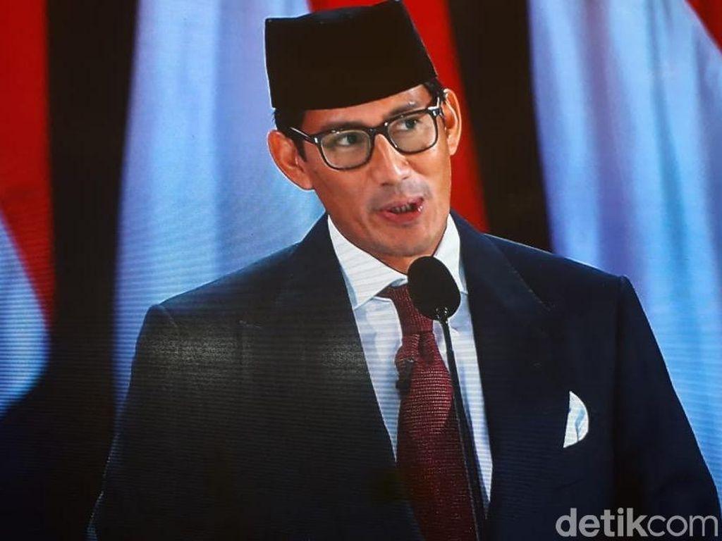 Jokowi Pamer Juara Wisata Halal, Sandi Ungkap Konsumsi Produk Halal RI
