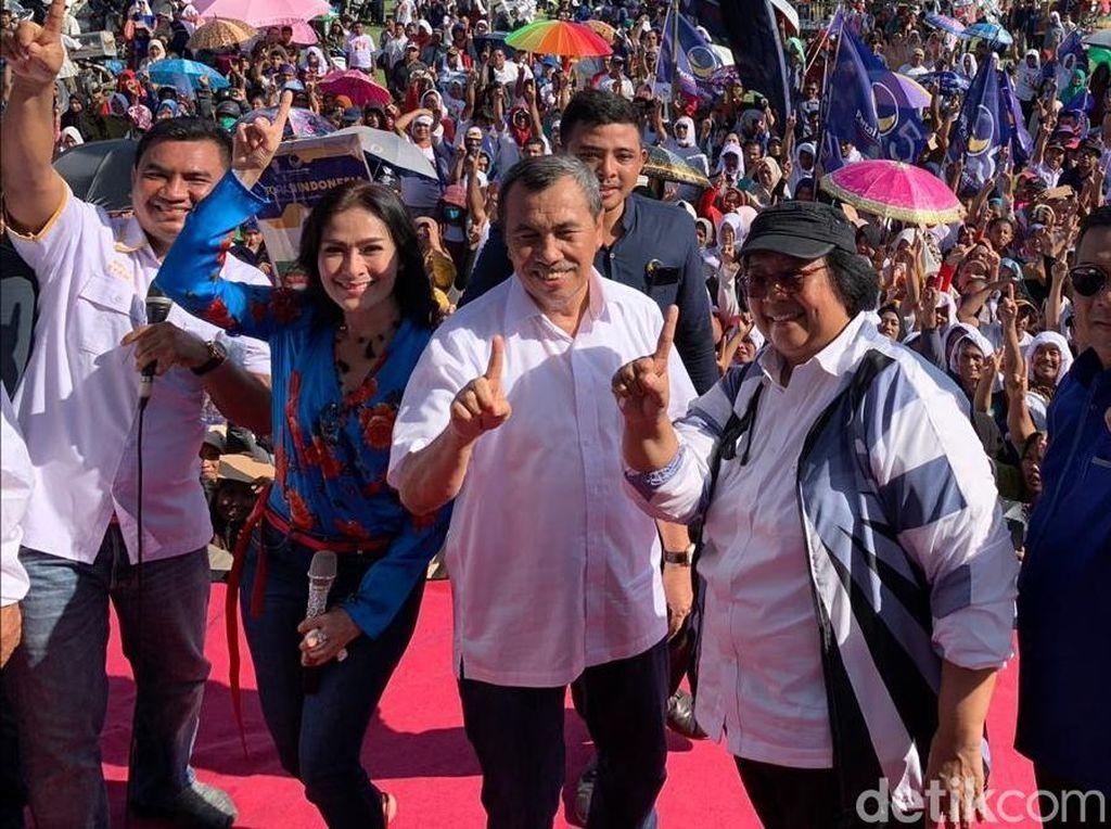 Kampanyekan Jokowi di Riau, Menteri Siti Bicara Komitmen soal Isu Perhutanan