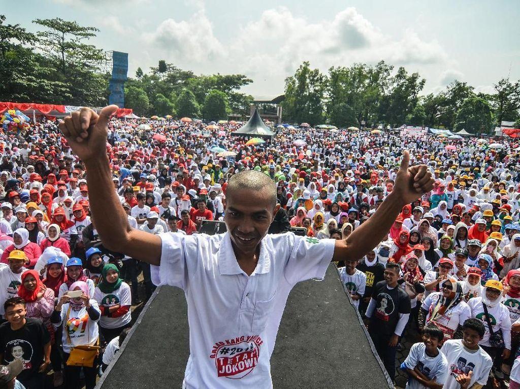 Mantul Begini Meriahnya Kampanye Terbuka Jokowi-Maruf di Tasikmalaya