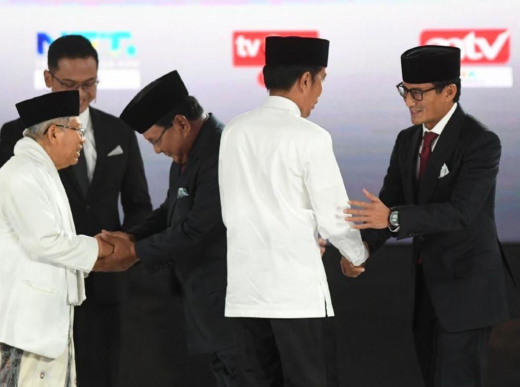 Jokowi Bicara Hilirisasi Industri, Prabowo Sindir soal Infrastruktur