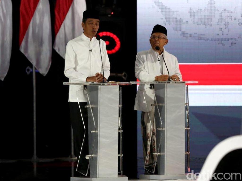 Jokowi Tutup Debat Pilpres: Kita Harus Selalu Optimis