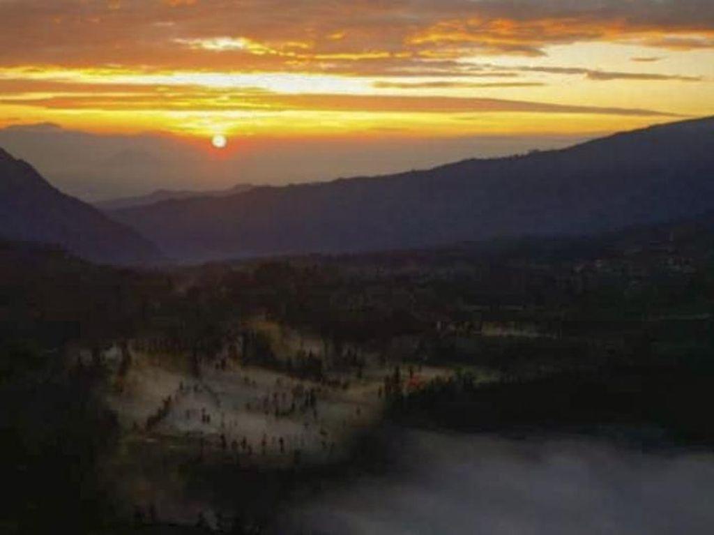 Selamat Pagi dari Gunung Bromo