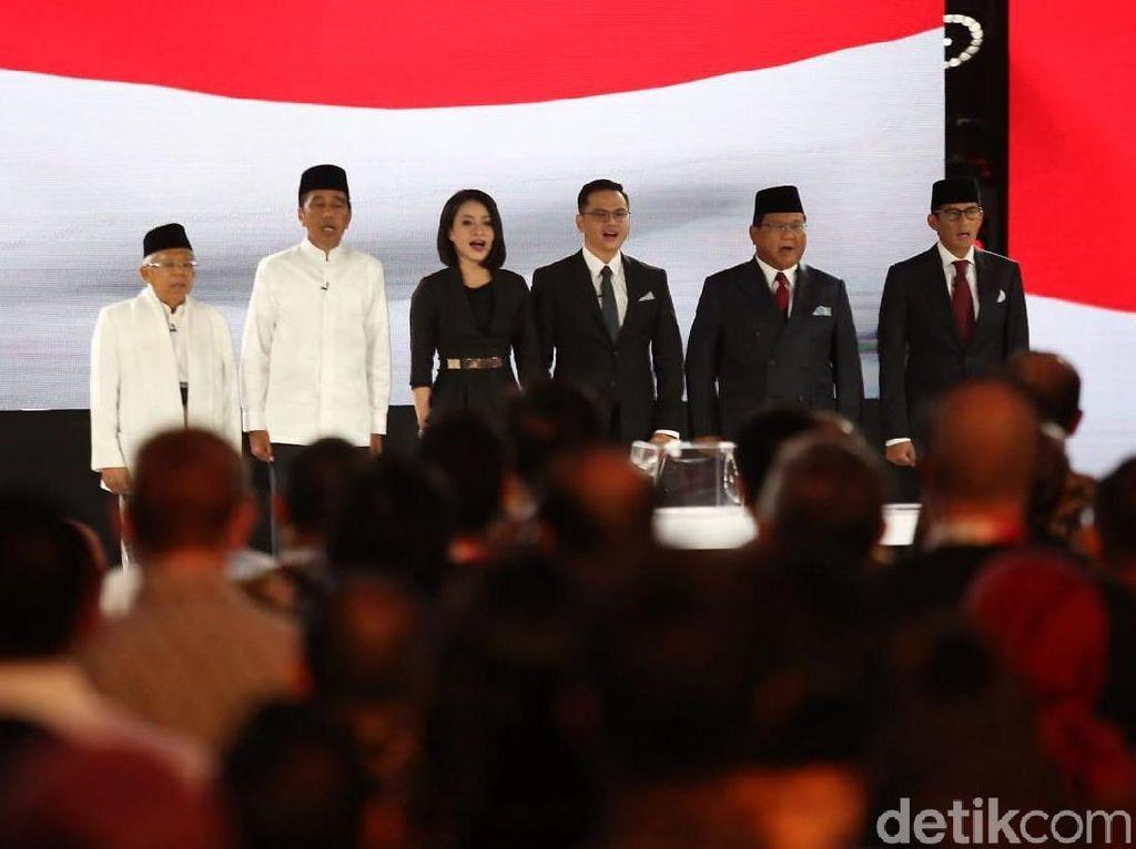 Beda Strategi Jokowi-Amin dan Prabowo-Sandi Soal Peningkatan Pajak