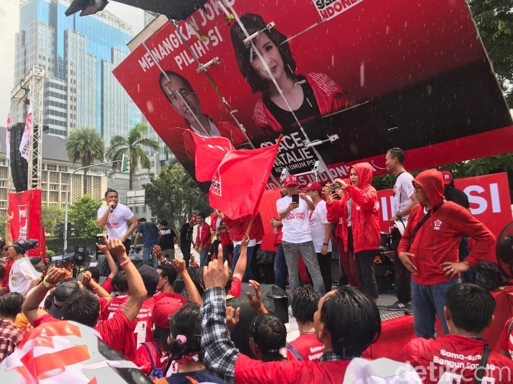 PSI Pamer Jadi Partai Empat Besar di DKI