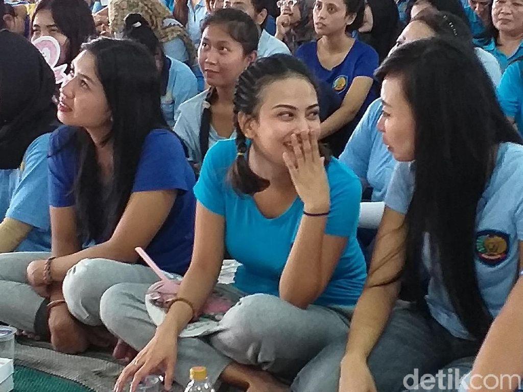 Dua Minggu di Rutan Medaeng, Begini Kondisi Vanessa Angel