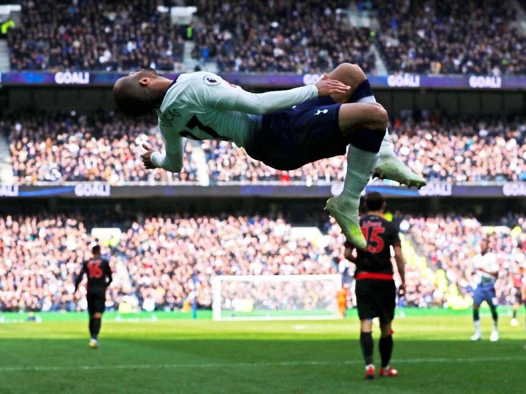 Tottenham Lebih Bergairah di Kandang Barunya