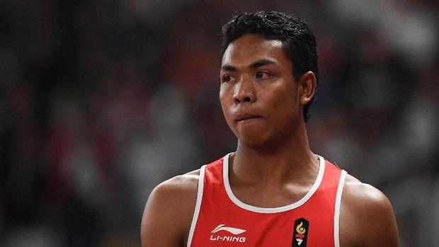 Lalu Zohri, sprinter fenomenal yang lahir di PB PASI di bawah kepemimpinan Bob Hasan. (
