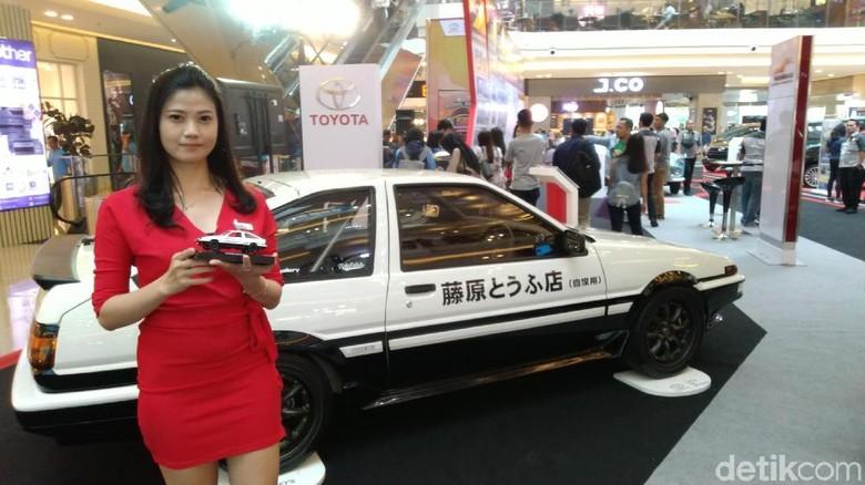 Keren, Ada Mobil AE86 Initial D Mampir di Semarang