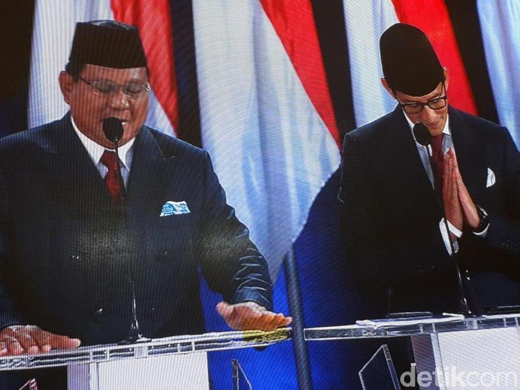 Buka Debat Kelima, Prabowo: Sudah Lama Bangsa Kita Berjalan ke Arah Salah!