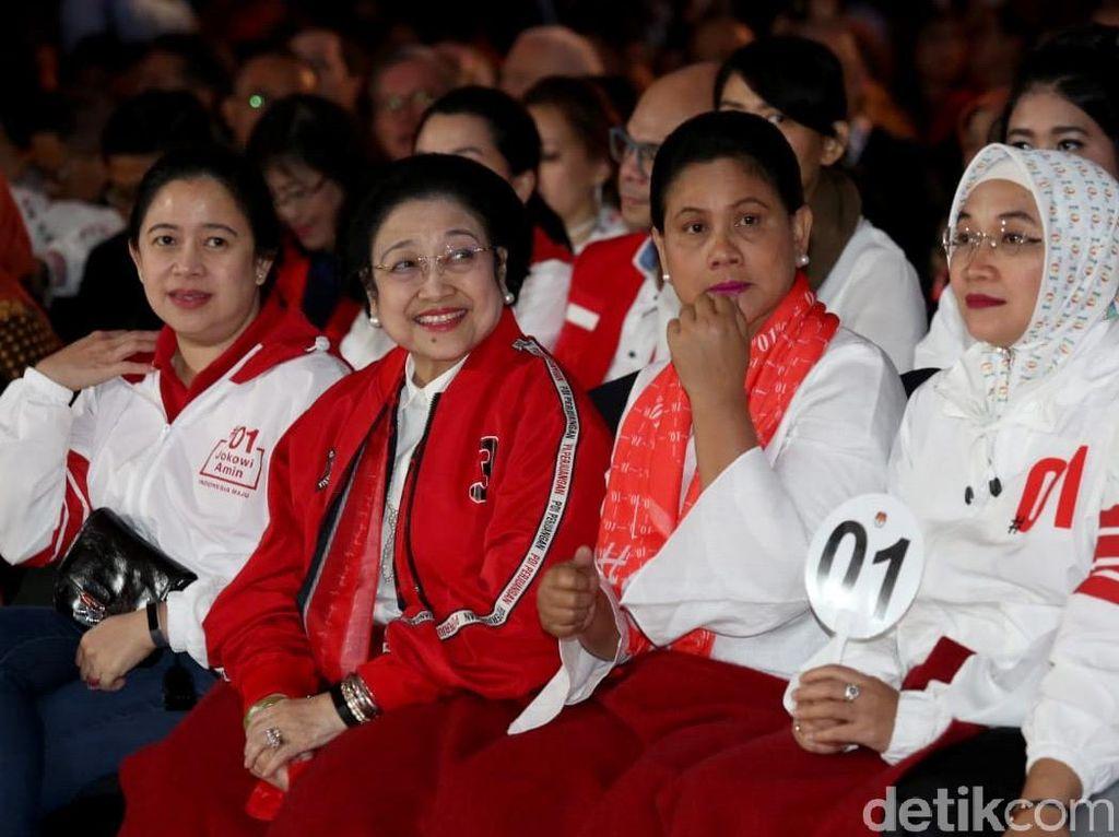 Megawati Hingga Amien Rais Saksikan Debat Pilpres Pamungkas