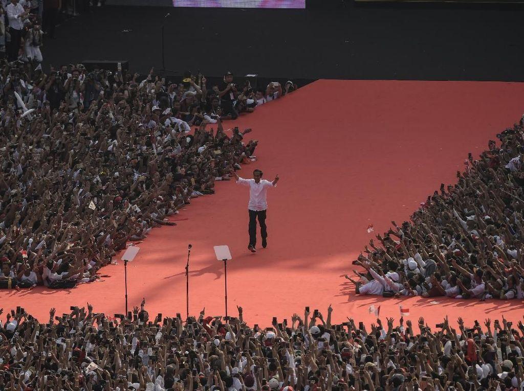 Jokowi Berterima Kasih ke Ketum Parpol Koalisi: Monoarfa untuk PPP