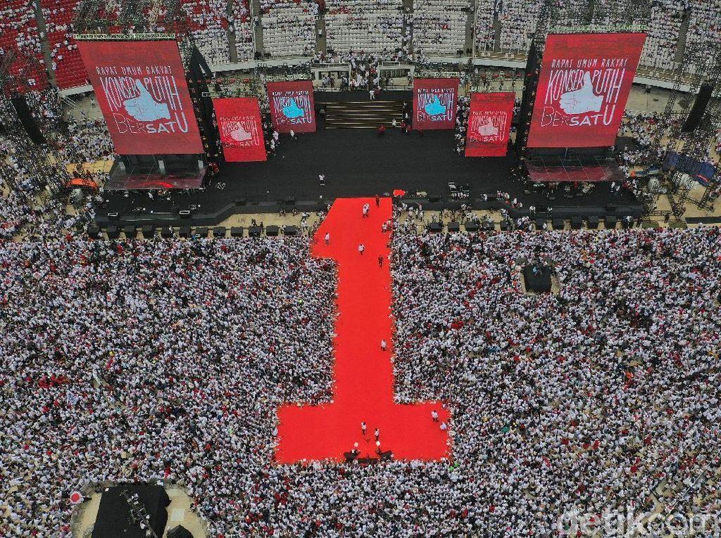 Jokowi: Menakhodai Negara Berpenduduk 269 Juta Jiwa Perlu Pengalaman!
