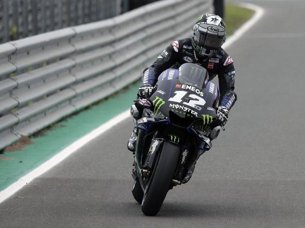 Giliran Vinales Tercepat di Free Practice II MotoGP AS