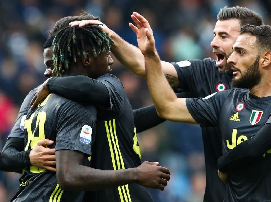 Babak 1 Usai, Juventus Ungguli SPAL 1-0