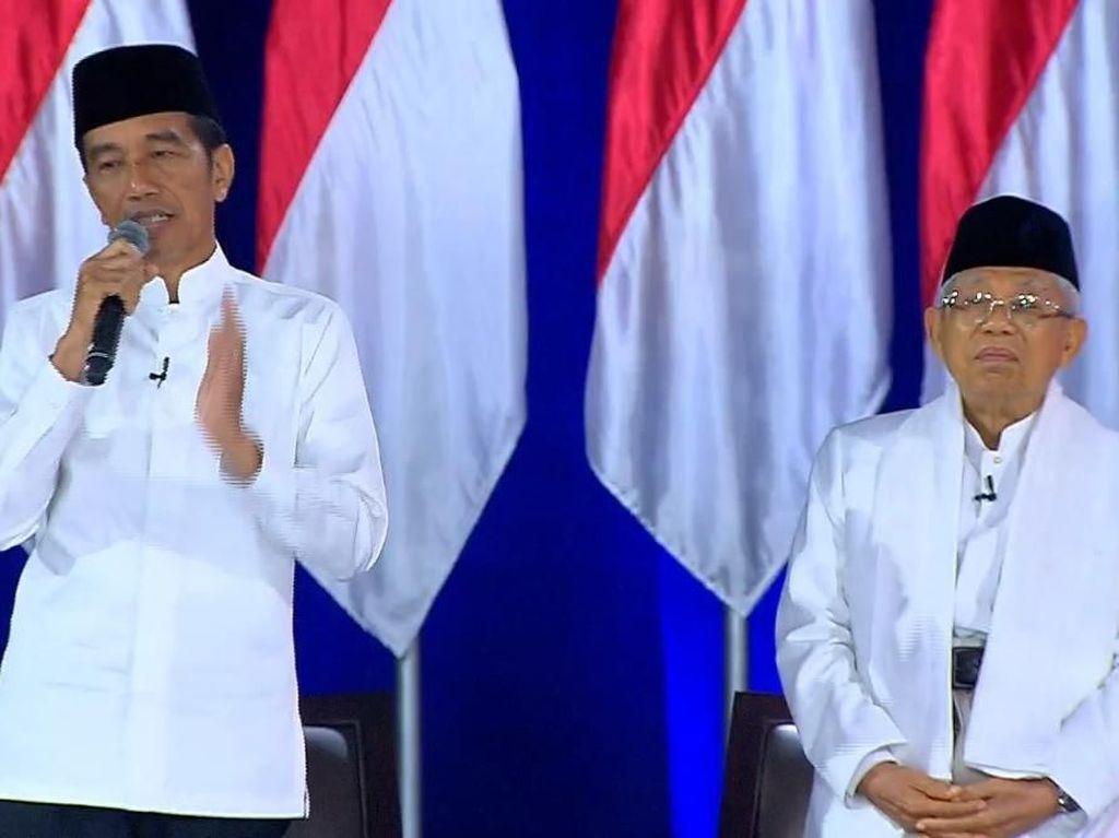 Maruf Amin Bicara Soal Dewi-dewi Untuk Pariwisata
