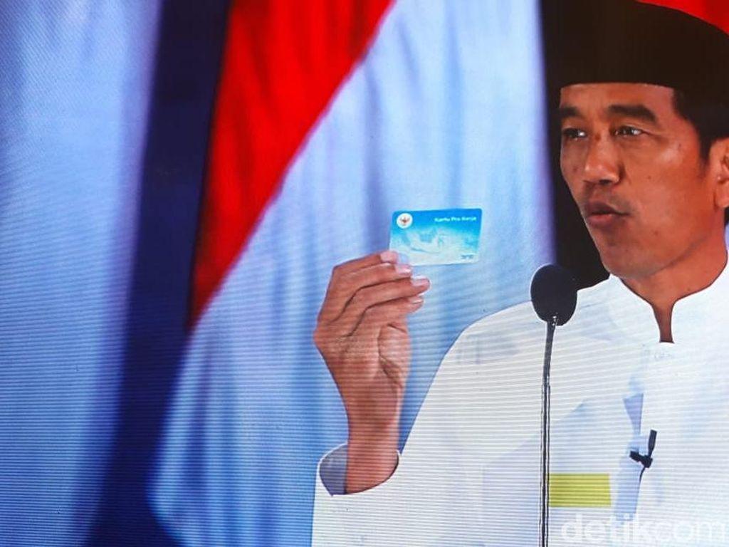 Jokowi Siapkan Kartu Pra Kerja, Bisa Training di Luar Negeri