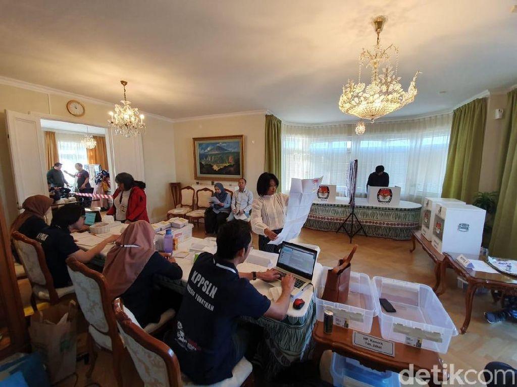 WNI di Malaysia hingga Rusia Nyoblos Hari Ini