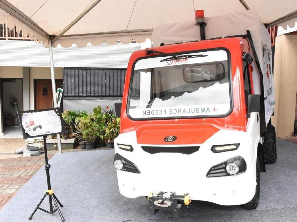 Mobil Desa Jadi Feeder Ambulans, Kurangi Kematian Ibu Melahirkan