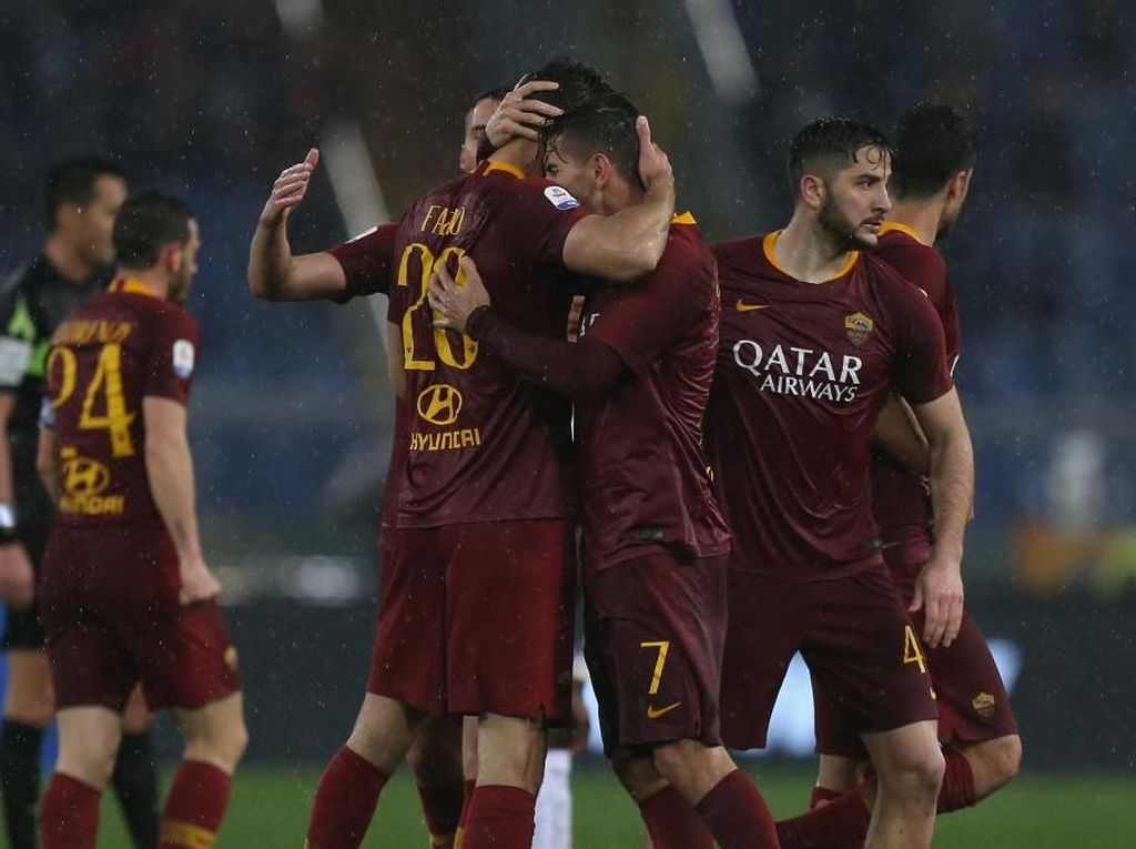 AS Roma Mundur dari International Champions Cup 2019