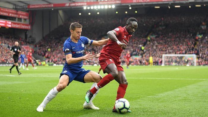 Liverpool vs Chelsea masih 0-0 di babak pertama (Michael Regan/Getty Images)