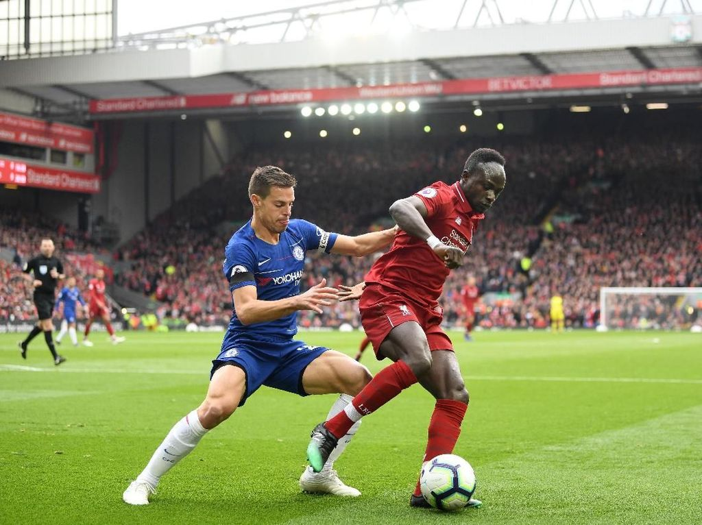 Head to Head Liverpool Vs Chelsea di Kompetisi Eropa
