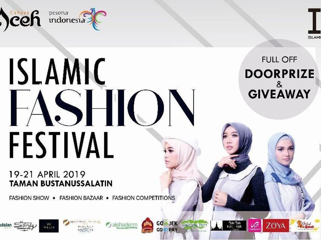 Aceh Bikin Islamic Fashion Festival, Hadirkan Zaskia Sungkar