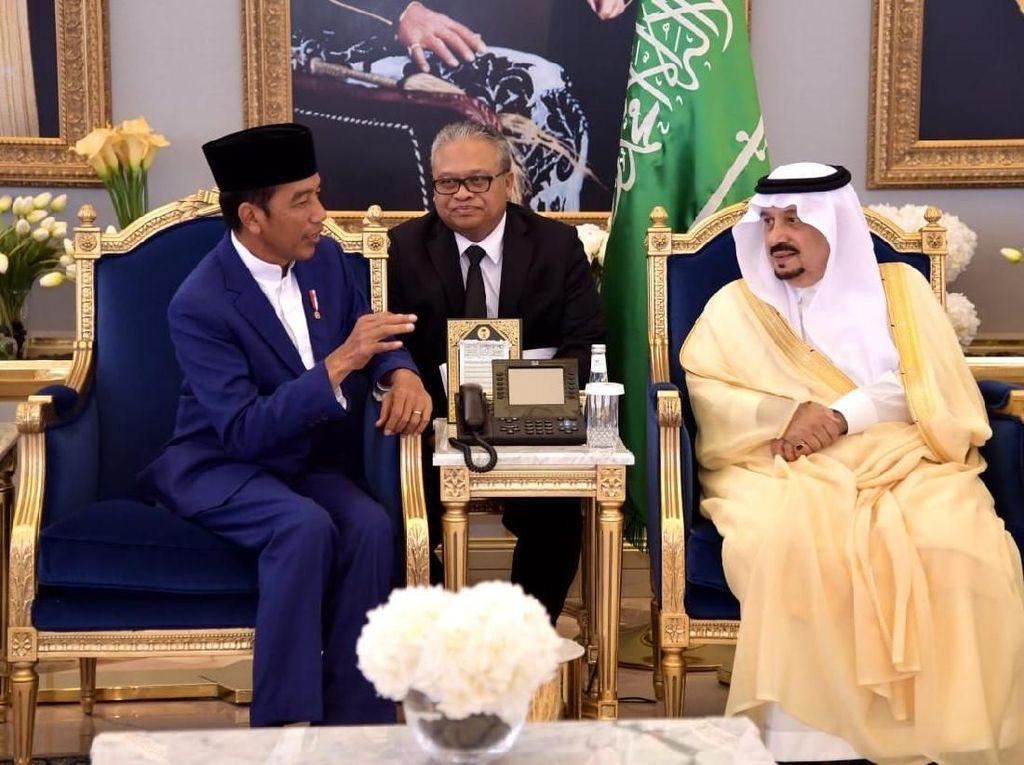 Tiba di Riyadh, Jokowi akan Bertemu Raja Salman dan Pangeran MBS
