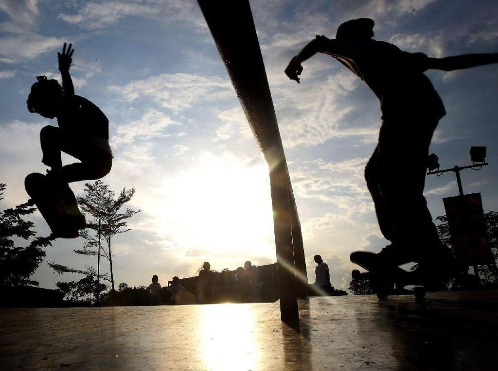 Intip Kejuaraan Skateboard Tingkat Nasional di Serpong