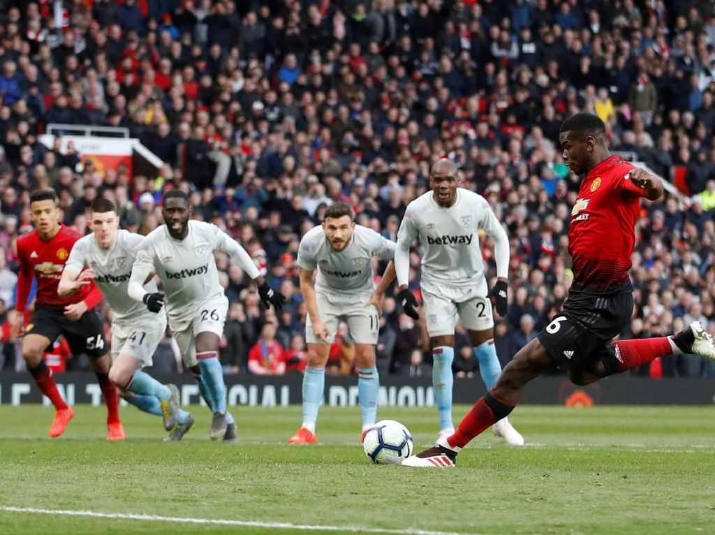 8 Fakta MU vs West Ham: Penalti ke-12 Setan Merah dan Tren Oke di Kandang
