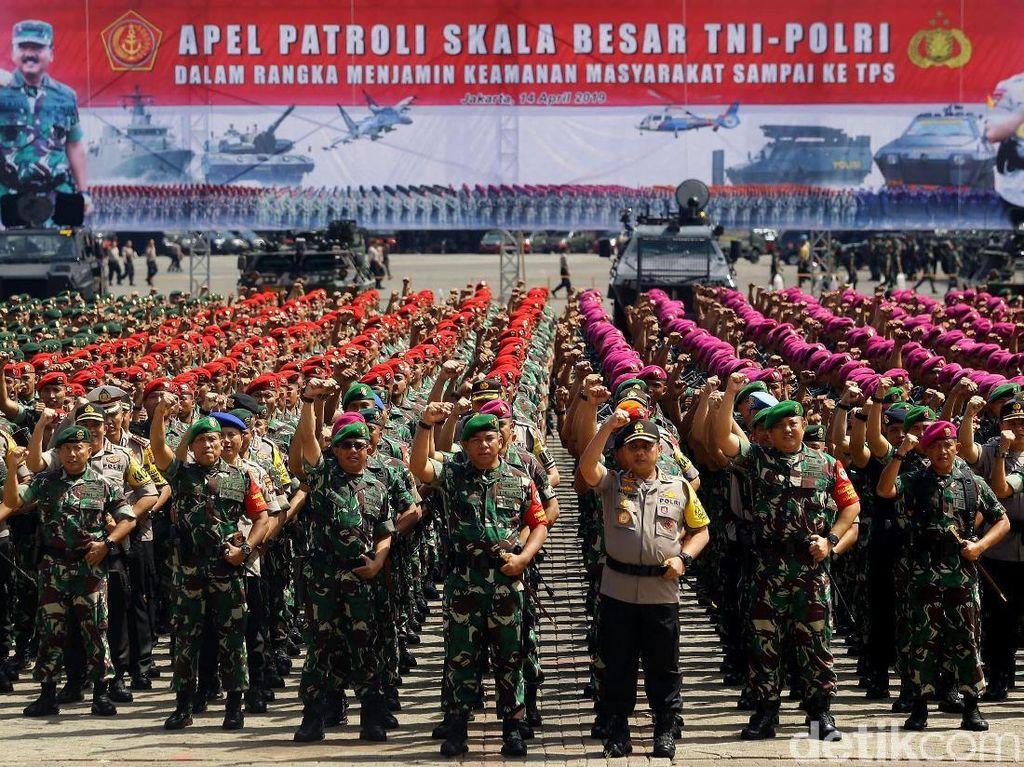 Alvara: Kerja TNI-Polri Paling Puaskan Publik di 100 Hari Kerja Jokowi