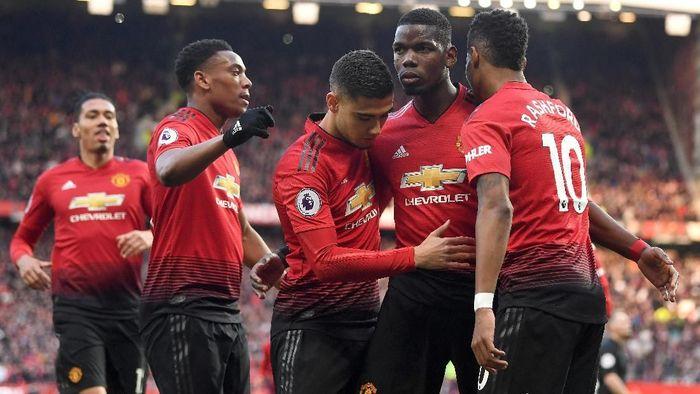 Manchester United tersendat-sendat dalam pekan-pekan terakhir. (Foto: Michael Regan/Getty Images)