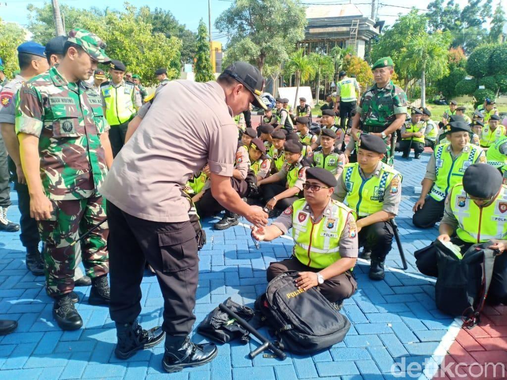 2.992 TPS di Kabupaten Probolinggo Dijaga 5 Ribu Personel Gabungan